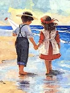 Изображение Дети у моря