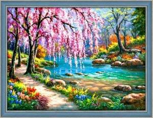Изображение Сакура у реки