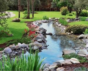 Изображение Ручей в саду