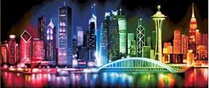 Изображение Сияющий мегаполис