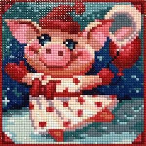 Изображение Весёлая свинка