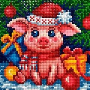 Изображение Новогодняя свинка