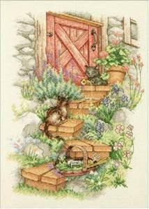 Изображение Садовые ступеньки (Garden Steps)