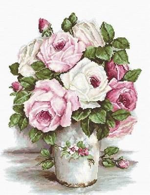 Изображение Смешанные розы