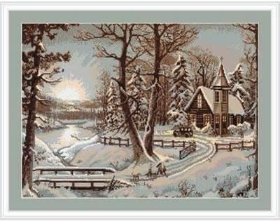 Изображение Зимний пейзаж