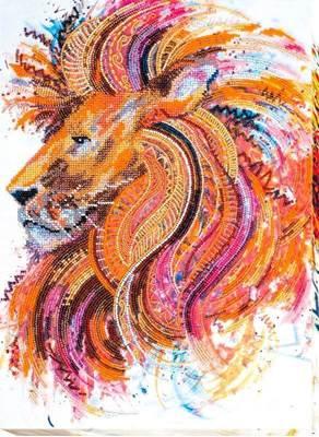 Изображение Огнегривый лев
