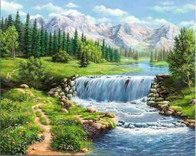 Изображение Полдень у реки