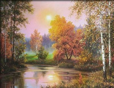 Изображение Осенние сумерки