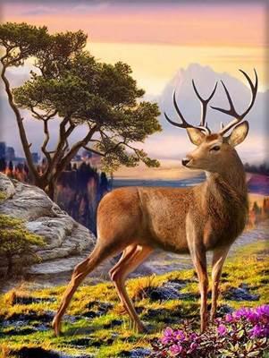 Изображение Благородный олень