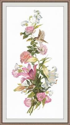Изображение Цветочная композиция. Лилии