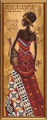 Изображение Африканка с кувшином