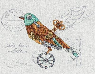 Изображение Птица механическая