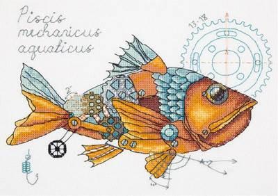 Изображение Рыба механическая