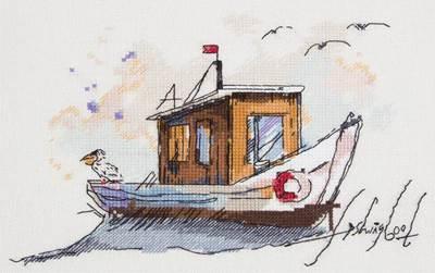 Изображение Рыбацкая лодка