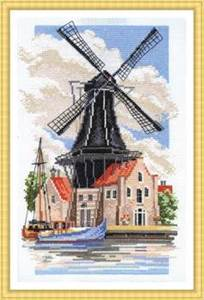 Изображение Мельница на берегу канала