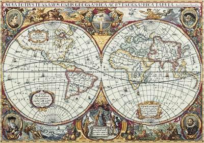 Изображение Географическая карта мира