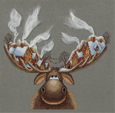 Изображение Рождественский лось