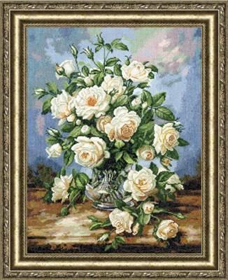 Изображение Букет белых роз