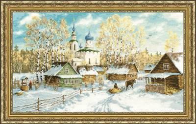 Изображение Деревенская зима