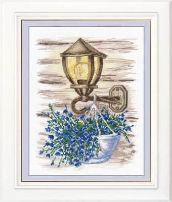 Изображение Фонарь с цветами