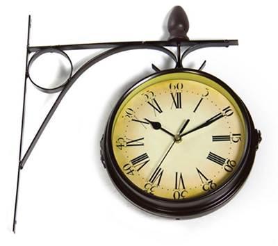 Изображение Часы на кронштейне двухсторонние