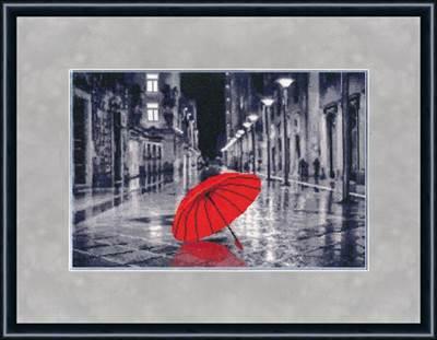 Изображение Красный зонтик