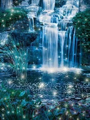 Изображение Искрящийся водопад