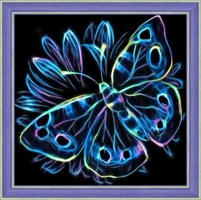Изображение Неоновая бабочка