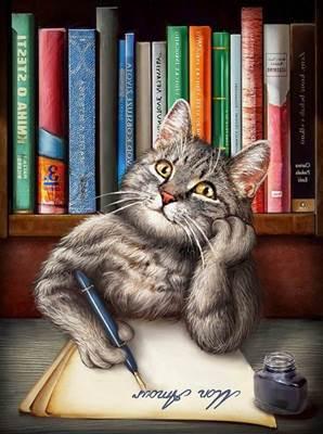 Изображение Кот ученый