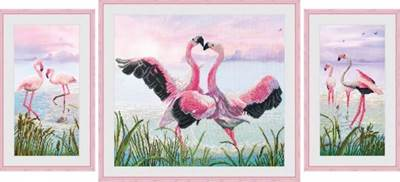 Изображение Танец фламинго