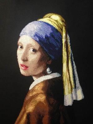 Изображение Девушка с жемчужной серьгой