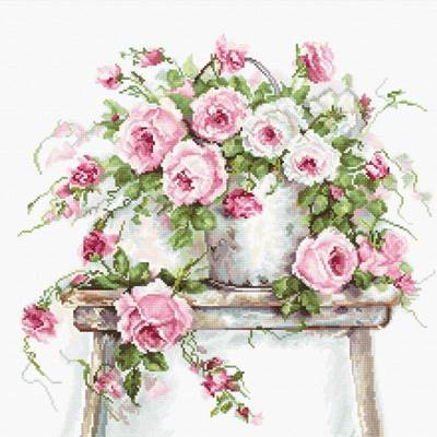 Изображение Розы на табурете
