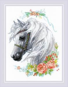 Изображение Белогривая лошадка