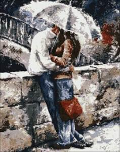 Изображение Романтическая прогулка под дождем