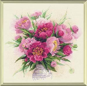 Изображение Пионы в вазе