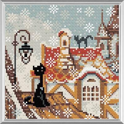Изображение Город и кошки. Зима