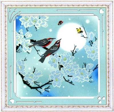 Изображение Птицы на ветке
