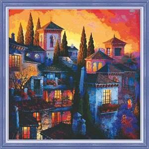 Изображение Вечерний город