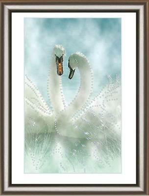 Изображение Белые лебеди