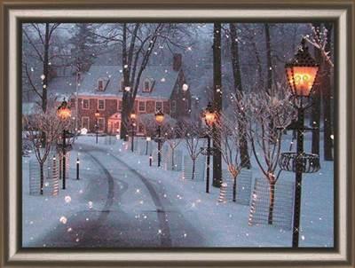 Изображение Морозный вечер