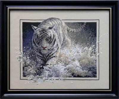 Изображение Тигр белая молния