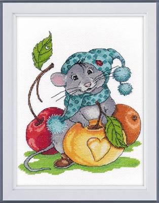 Изображение Запасливый мышонок