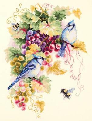 Изображение Сойки и виноград