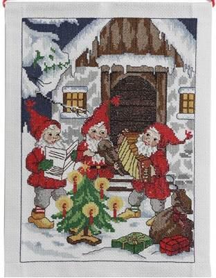 Изображение Панно Санты играют музыку (Santa's playing music)