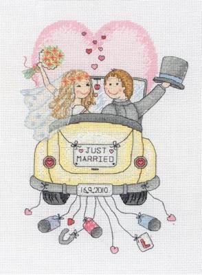 Изображение Молодожены Метрика (Just Married)