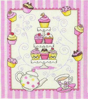 Изображение Кексы к чаю (Cupcake Stand)