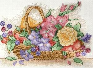 Изображение Корзина с цветами (Floral Basket)
