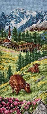Изображение Швейцарские Альпы (Swiss Alpine Landscape)