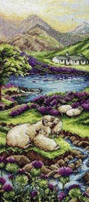 Изображение Высокогорный пейзаж (Highlands Landscape)