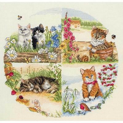 Изображение Коты и сезоны (Cats and Seasons)
